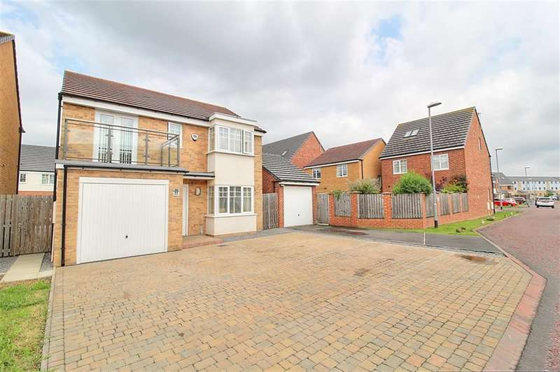 4 Bedrooms Detached House for sale in Derwent Water Drive, Stella Riverside, Blaydon,NE21 4FJ