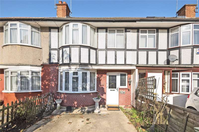 3 Bedrooms Terraced House for sale in Sandringham Crescent, Harrow, Middlesex, HA2