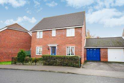4 Bedrooms Detached House for sale in Thorpe St Andrew, Norwich, Norfolk