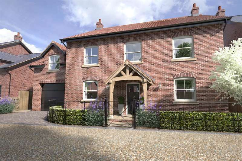 5 Bedrooms Detached House for sale in The Paddocks, Bishop Monkton, Harrogate