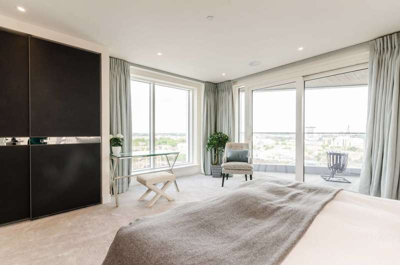 3 Bedrooms Flat for sale in Chelsea Creek Tower, Sands End, SW6