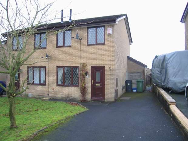 2 Bedrooms Semi Detached House for sale in Pinewood Drive Accrington