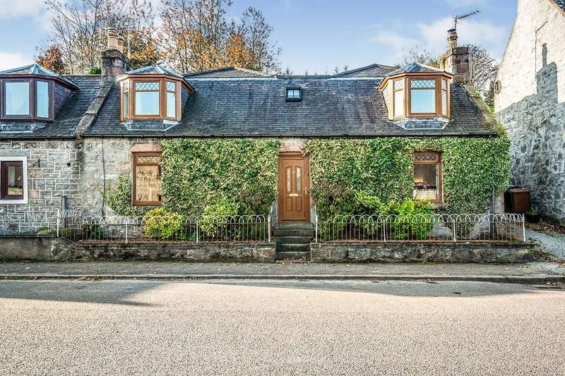 3 Bedrooms Semi Detached House for sale in Church Street, Dufftown, Keith, Moray, AB55