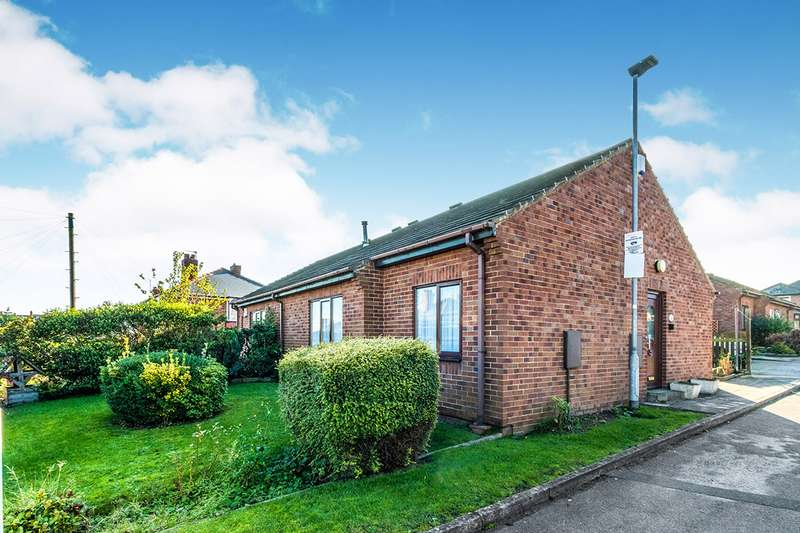 2 Bedrooms Semi Detached Bungalow for sale in Helena Close, Barnsley, South Yorkshire, S70