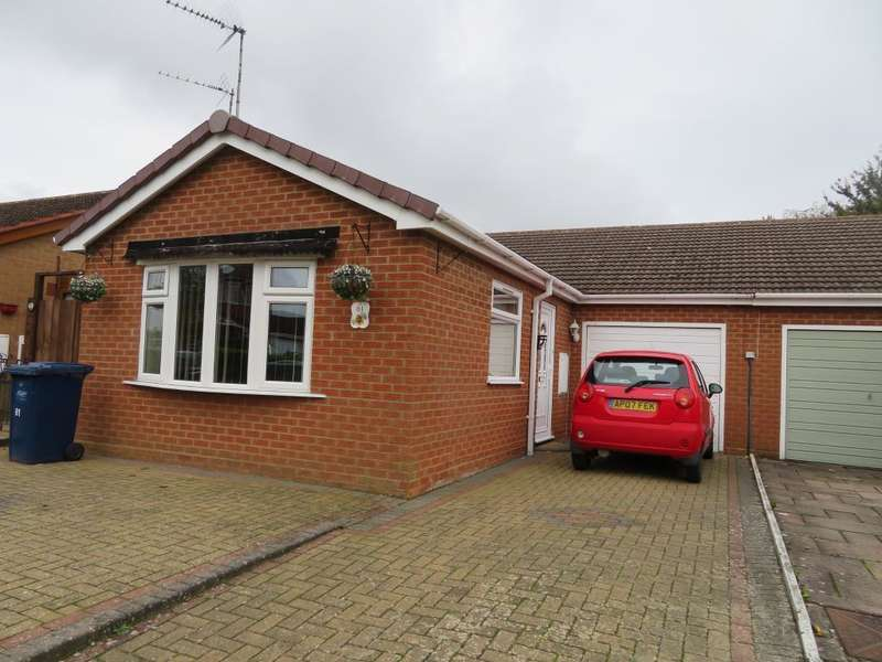 2 Bedrooms Semi Detached Bungalow for sale in Falklands Drive, Wisbech, Cambs, PE13 2HU