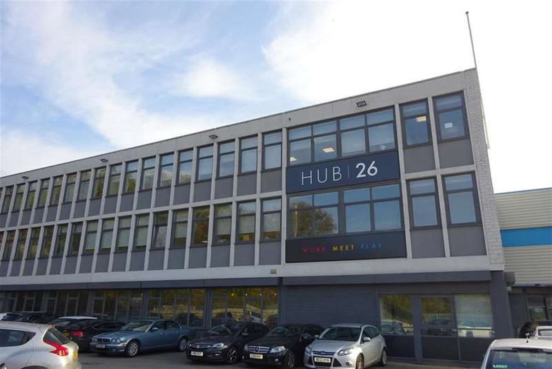 1 Bedroom Office Commercial for rent in Hub 26, Hunsworth Lane, Cleckheaton, BD19 4LN