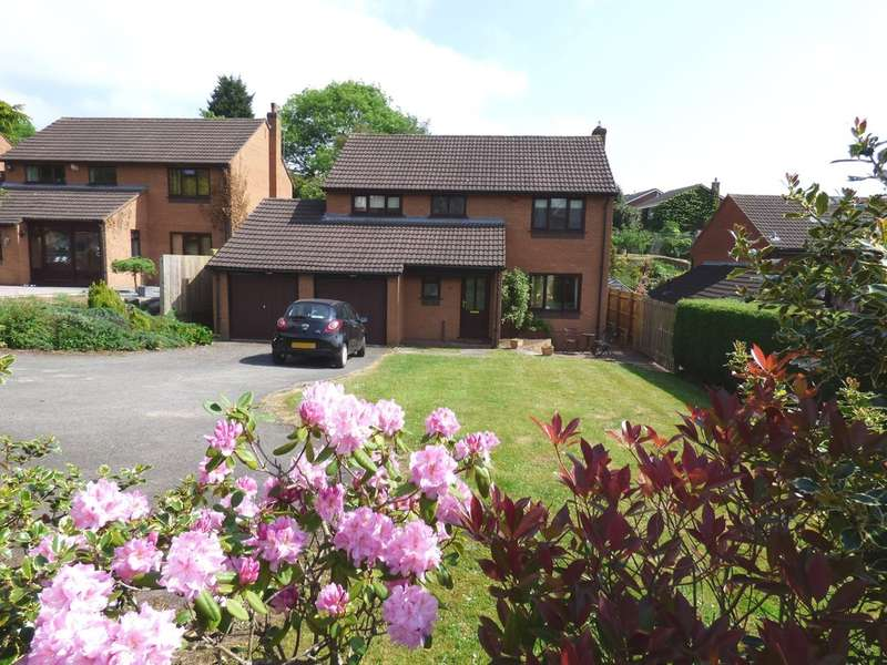 4 Bedrooms Detached House for sale in Wightman Close, Lichfield