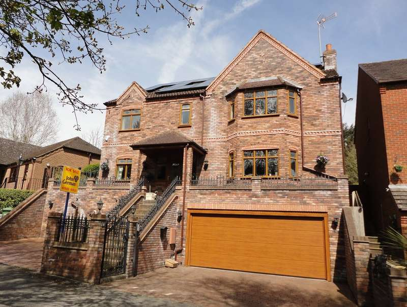 5 Bedrooms Detached House for sale in Millside, Slitting Mill, Staffordshire
