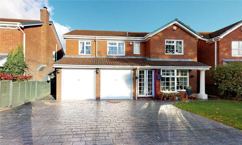 5 Bedrooms Detached House for sale in 14 Hermitage Way, Madeley, Telford, Shropshire, TF7
