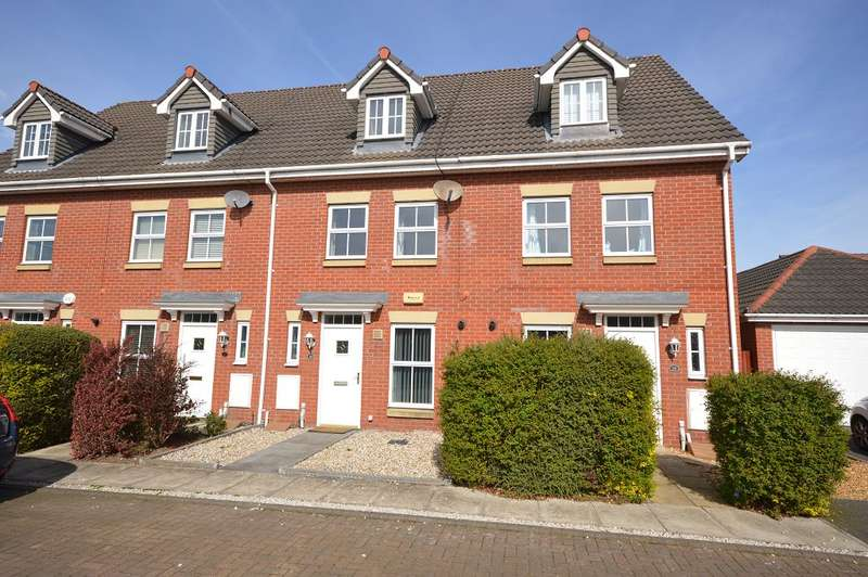 3 Bedrooms Terraced House for rent in William Foden Close, Sandbach, Cheshire, CW11 3SE
