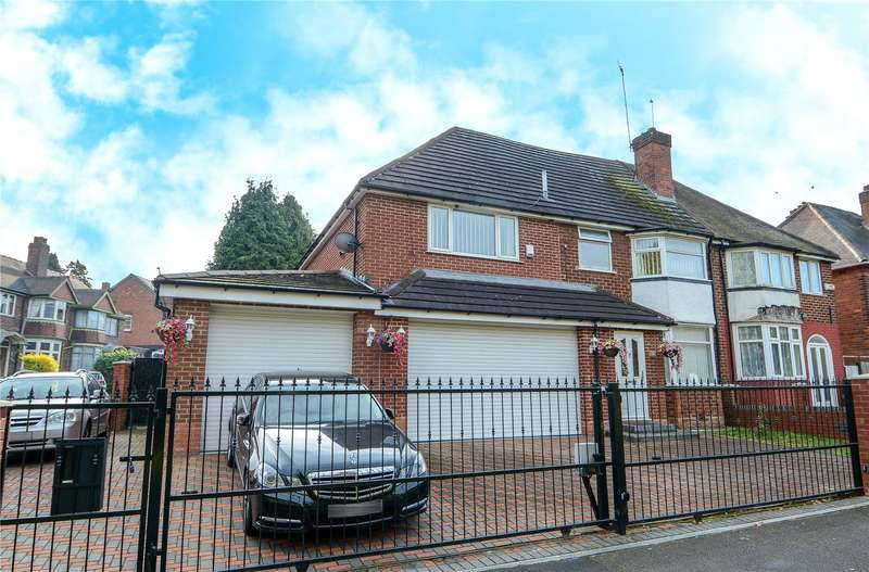 4 Bedrooms Semi Detached House for sale in Norman Road, Smethwick, West Midlands, B67
