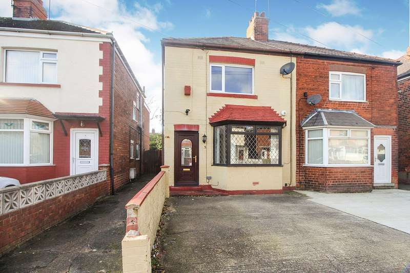 2 Bedrooms Semi Detached House for sale in Lime Tree Avenue, Hessle, East Yorkshire, HU13