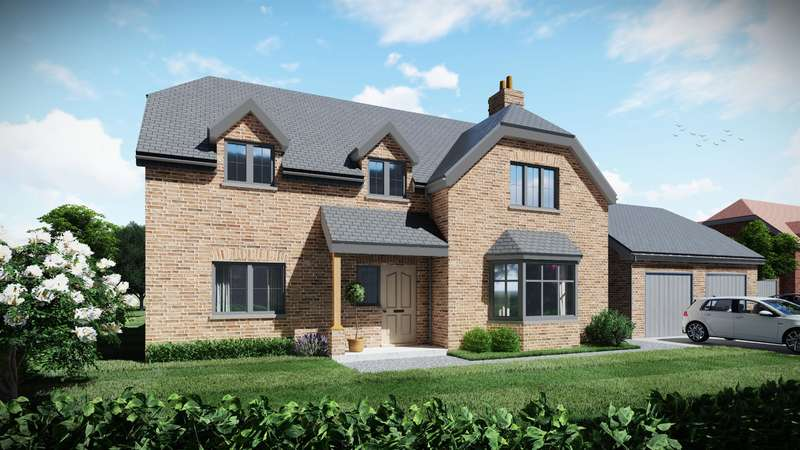4 Bedrooms Detached House for sale in Plot 4, Highfields, Louth, LN11 9XZ