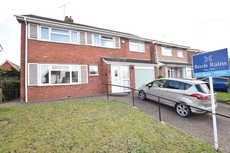 4 Bedrooms Detached House for sale in Calgary Drive, Worcester, WR2