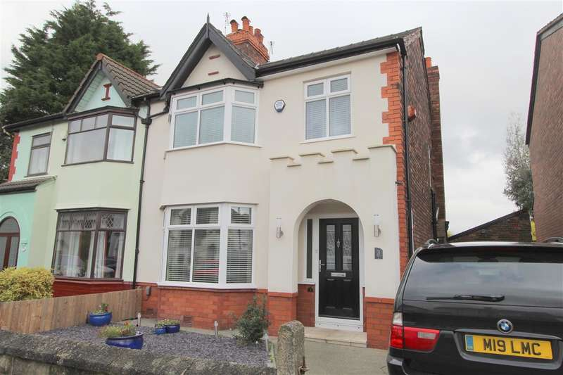 3 Bedrooms Semi Detached House for sale in Lingfield Road, Broadgreen, Liverpool