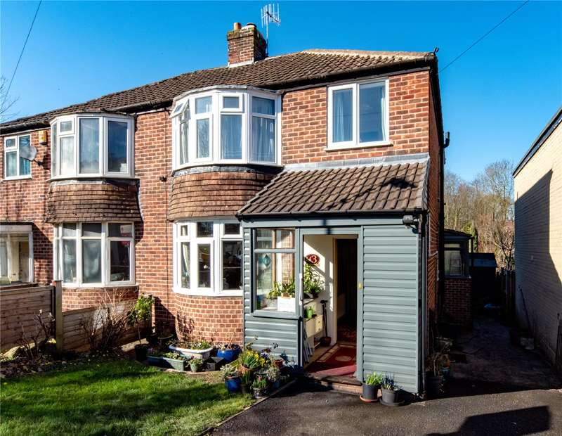 3 Bedrooms Semi Detached House for sale in Milldale Road, Totley, Sheffield, S17