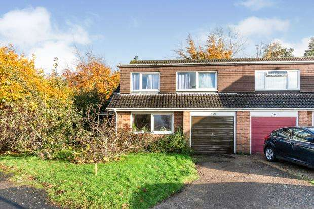 4 Bedrooms Semi Detached House for sale in Oakley, Basingstoke, Hampshire