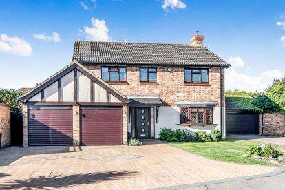 4 Bedrooms Detached House for sale in Cryselco Close, Kempston, Bedford, Bedfordshire