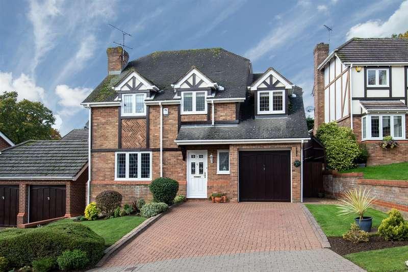 4 Bedrooms Detached House for sale in Mardle Close, Caddington, Bedfordshire