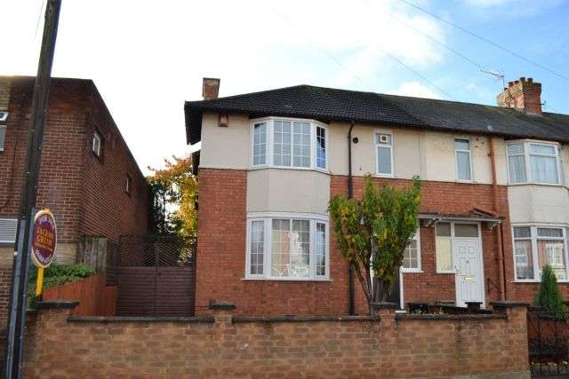 3 Bedrooms Semi Detached House for sale in Rothersthorpe Road, Far Cotton, Northampton NN4 8JA