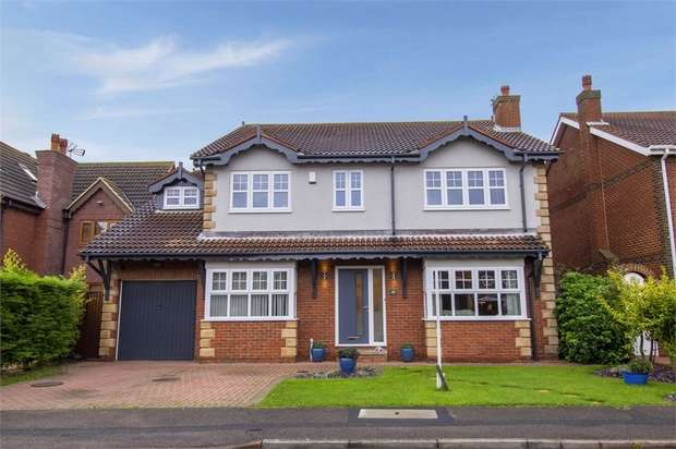 5 Bedrooms Detached House for sale in Endeavour Close, Hartlepool, Durham