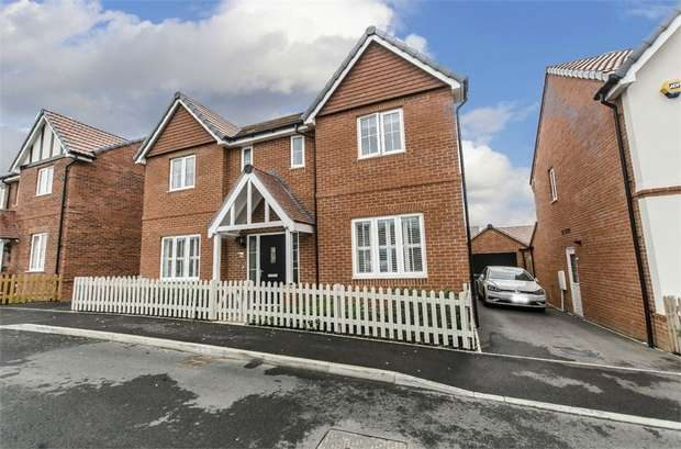 4 Bedrooms Detached House for sale in Chiltern Crescent, Fair Oak, EASTLEIGH, Hampshire