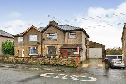 3 Bedrooms Semi Detached House for sale in Lowerhouse Lane, Lowerhouse, Burnley, Lancashire