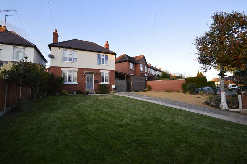 3 Bedrooms Detached House for sale in Upper Road, Shrewsbury SY3