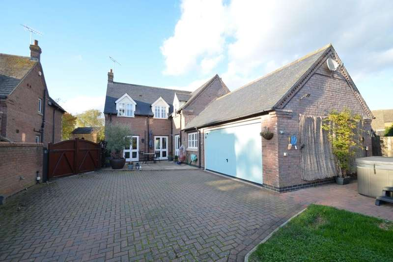 4 Bedrooms Detached House for sale in The Green, Drayton, Market Harborough, LE16