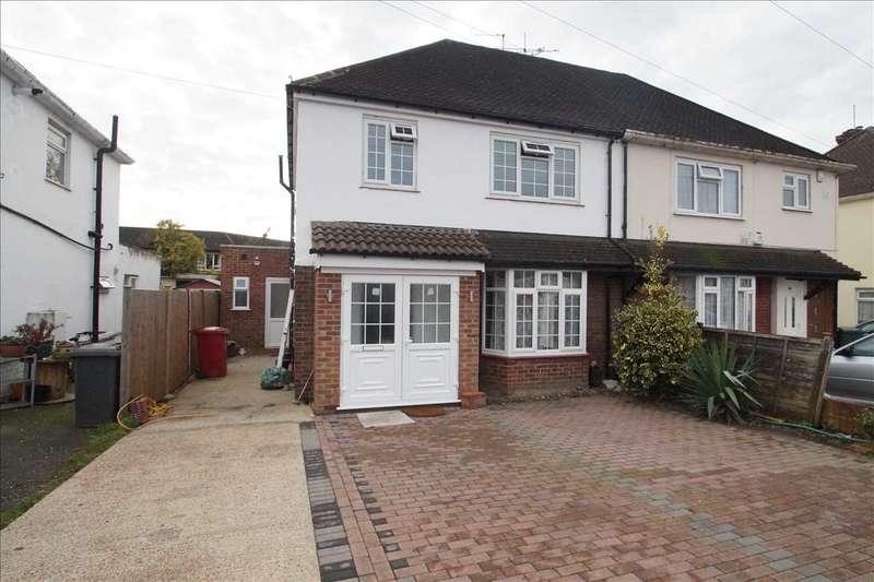3 Bedrooms Semi Detached House for sale in Bath Road, Cippenham, Slough