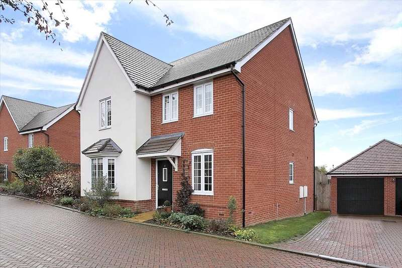 4 Bedrooms Detached House for sale in Mortimer Close, Andover