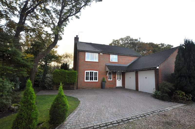 4 Bedrooms Detached House for sale in St Michaels Road, Verwood, BH31 6HZ