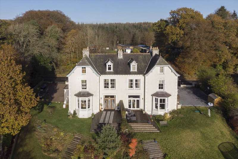 6 Bedrooms Semi Detached House for sale in Rockcliffe House, Rumbling Bridge