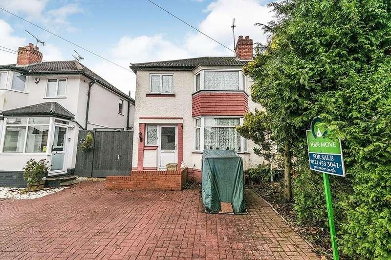 3 Bedrooms Semi Detached House for sale in Gannow Road, Rubery,Rednal, Birmingham, B45