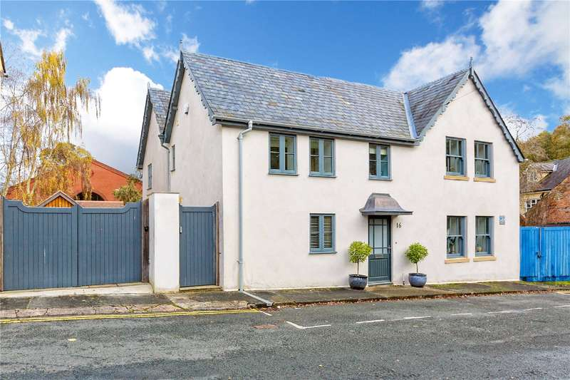 4 Bedrooms Detached House for sale in 16 Lower Mill Street, Ludlow, Shropshire, SY8