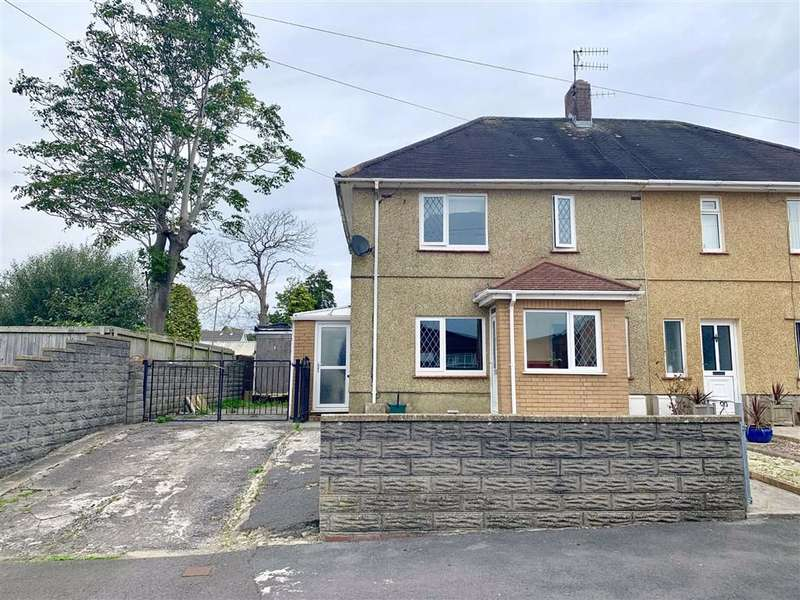 2 Bedrooms Semi Detached House for sale in Amanwy, Llanelli