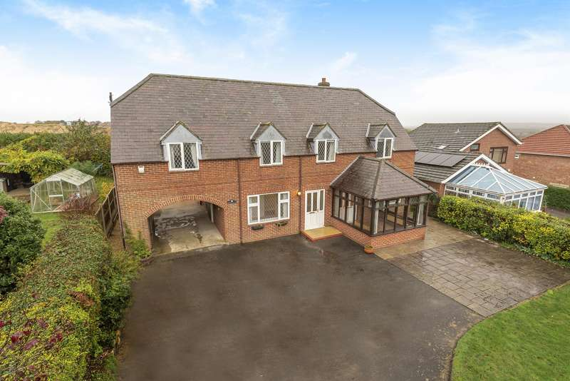 4 Bedrooms Detached House for sale in Langton Hill, Horncastle, Lincs, LN9 5JP