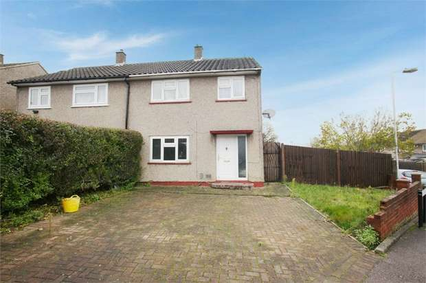 3 Bedrooms Semi Detached House for sale in Brunel Road, Luton, Bedfordshire