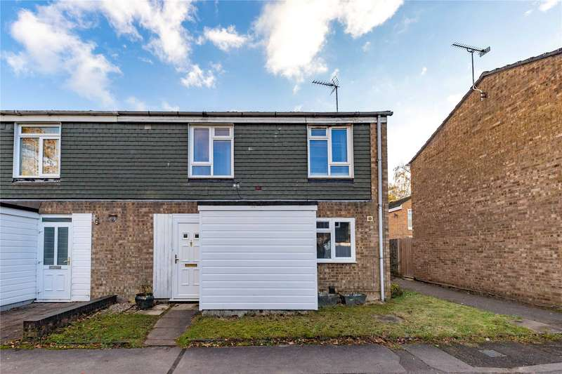 3 Bedrooms End Of Terrace House for sale in Cottesmore, Bracknell, Berkshire, RG12