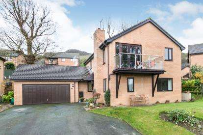 4 Bedrooms Detached House for sale in Parc Moel Lus, Penmaenmawr, Conwy, North Wales, LL34