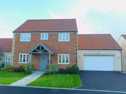 4 Bedrooms Detached House for sale in West Pennard, Glastonbury, Somerset