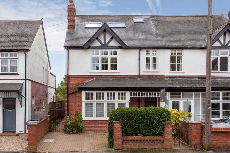 5 Bedrooms Semi Detached House for sale in Oakley Road, Caversham Heights, Reading