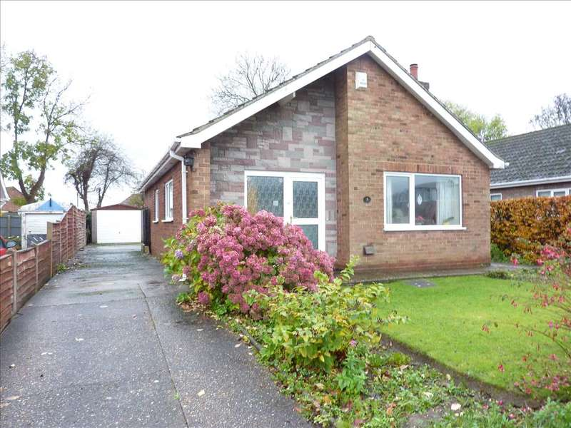 3 Bedrooms Detached Bungalow for sale in LANSDOWN ROAD, IMMINGHAM, NEAR GRIMSBY