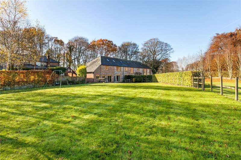3 Bedrooms Semi Detached House for sale in Clump Barn, Farleigh Lane, Dummer, RG25
