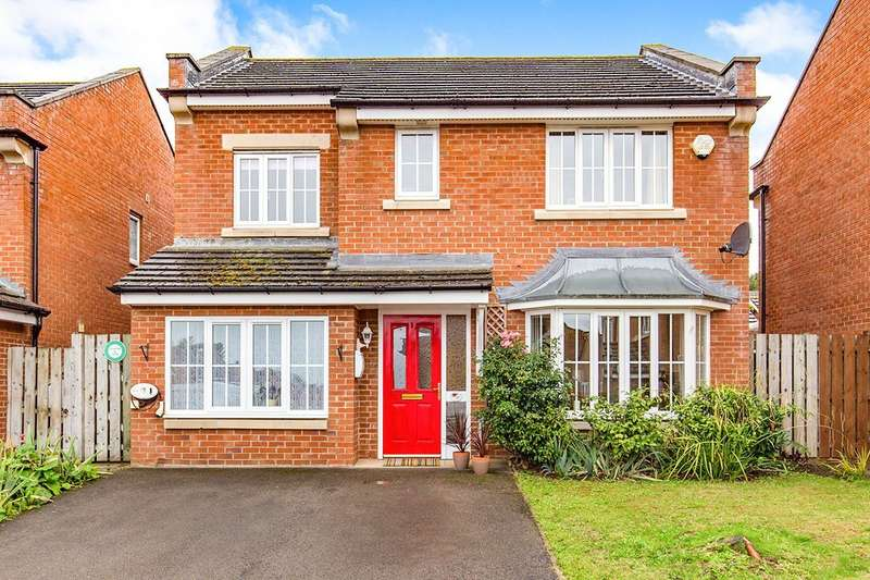 4 Bedrooms Detached House for sale in Aspen Grove, School Aycliffe, Newton Aycliffe, Durham, DL5