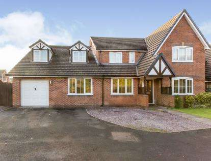 5 Bedrooms Detached House for sale in James Atkinson Way, Crewe, Cheshire