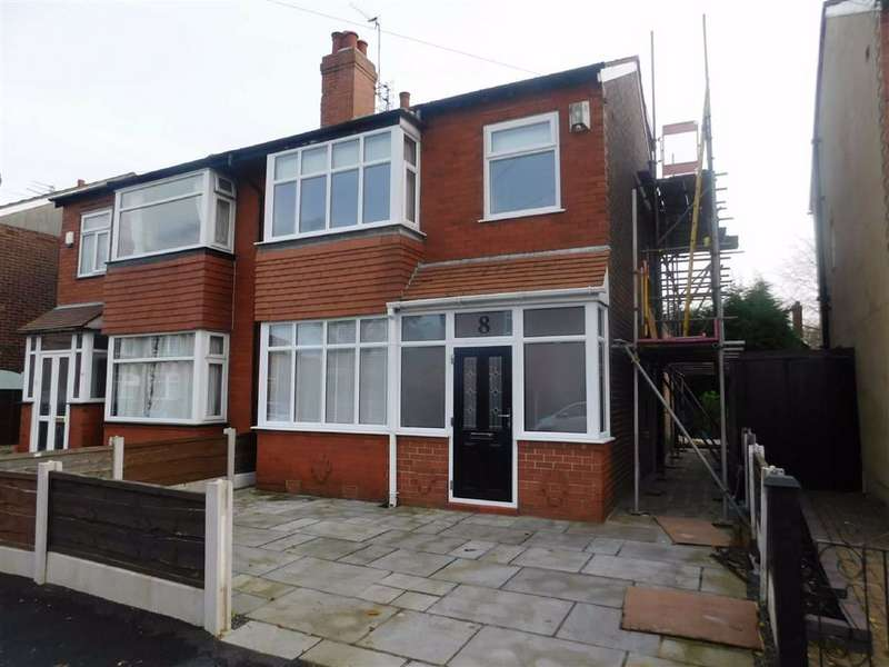4 Bedrooms Semi Detached House for sale in Greave Road, Offerton, Stockport