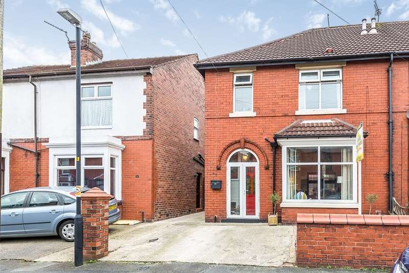 3 Bedrooms Semi Detached House for sale in Yarrow Road, Chorley, Lancashire, PR6