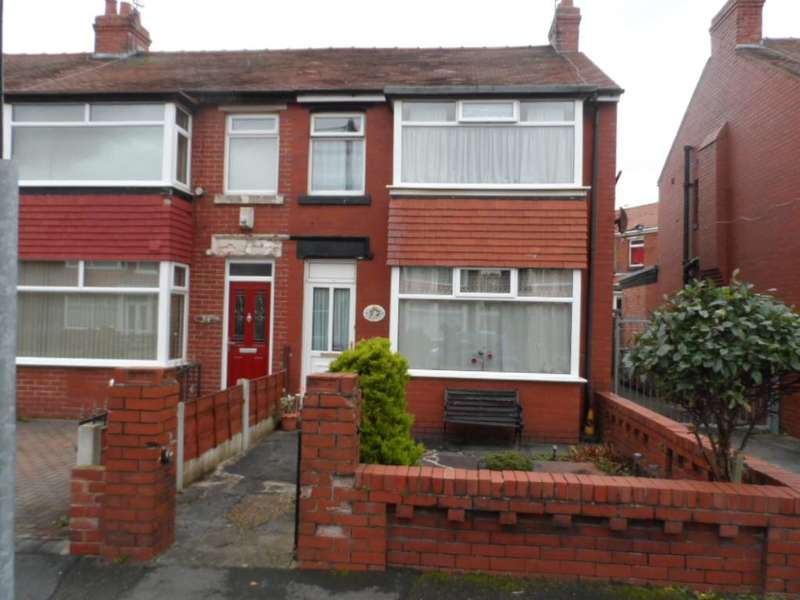 3 Bedrooms End Of Terrace House for sale in Fredora Avenue, Blackpool, FY3 9NL