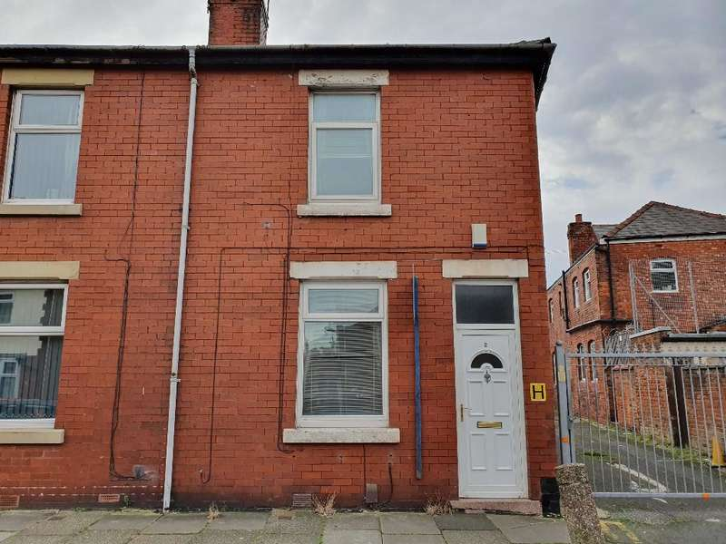 2 Bedrooms End Of Terrace House for sale in Grenfell Ave, Blackpool, FY3 7BP